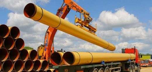 газопровод-трубы