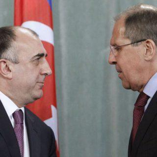 Сергей Лавров и Эльмар Мамедъяров