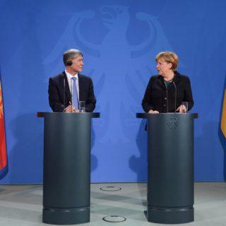 Меркель посетила Кыргызстан