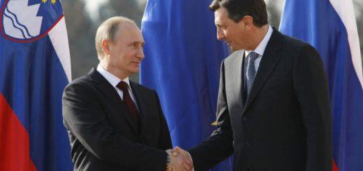 Президенты России и Словении обсудили экономические вопросы