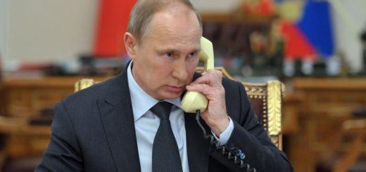путин-с-телефоном