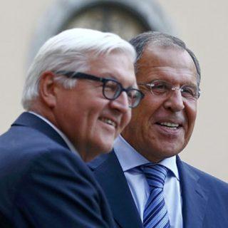 Лавров и Штайнмайер обсудили международную повестку дня и ситуацию в Крыму