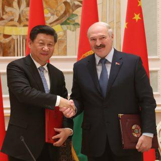 Сегодня именно Китай рассматривается как самый главный и перспективой партнер Белоруссии