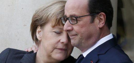 Президент Франции и канцлер Германии попытались сблизить позиции накануне саммита Европейского союза, который пройдет 15 декабря в Брюсселе.