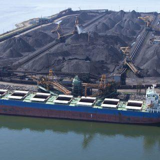 Уголь в портах Дальнего Востока
