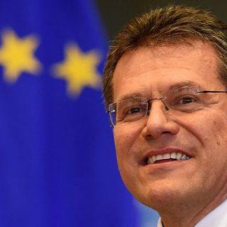 Вице-президент Еврокомиссии по вопросам энергетики Марош Шефчович
