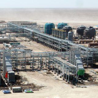 Добыча газа в Узбекистане