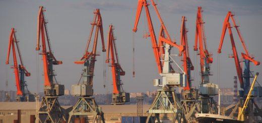 Порт Азербайджана на Каспии