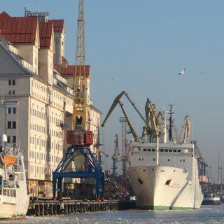 В 2015 году порт Калининград сократил грузооборот на 8,6% до 12,7 млн тонн грузов.