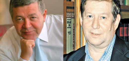 Известные экономисты Руслан Гринберг (слева) и Александр Рубинштейн (справа). Фото: Архив РГ