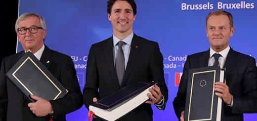 Торговое соглашение Евросоюза с Канадой заработает в 2017 году