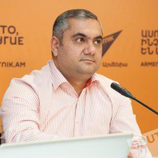 президент Армянской ассоциации маркетинга Арам Навасардян. Фото: Sputnik