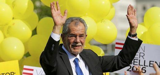 Австрийцы выбрали президента страны