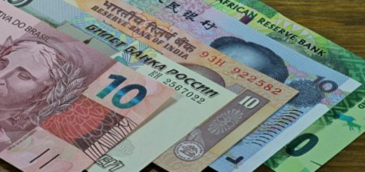 Деньги стран БРИКС