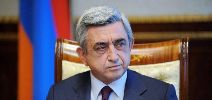 Саргсян заявил о необходимости закрепить статус Нагорного Карабаха