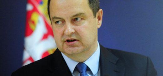 Министр иностранных дел Сербии Ивица Дачич
