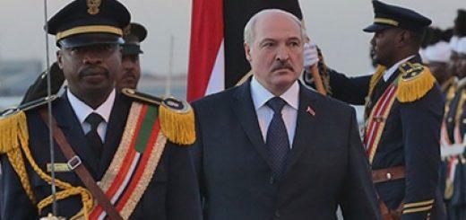 В январе состоялись официальные визиты президента Беларуси в Египет и Судан.