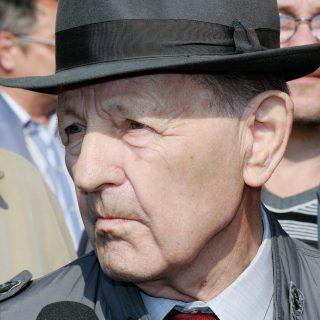 Бывший лидер Коммунистической партии Чехословакии Милош Якеш