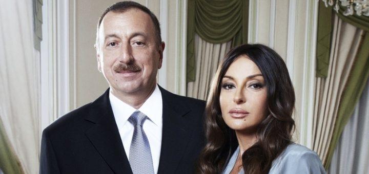 Президент Азербайджана назначил свою супругу первым вице-президентом
