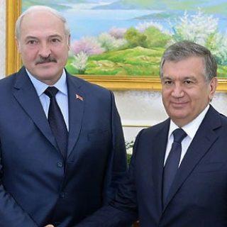Лукашенко и Мирзиеев