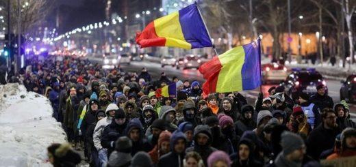 В Румынии продолжаются антиправительственные митинги