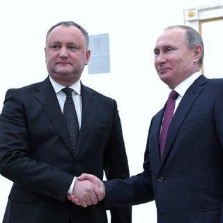 Путин и Додон
