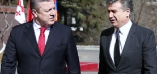 В Тбилиси с официальным визитом побывал глава правительства Армении Карен Карапетян, которого очень тепло встретил премьер-министр Грузии Георгий Квирикашвили.