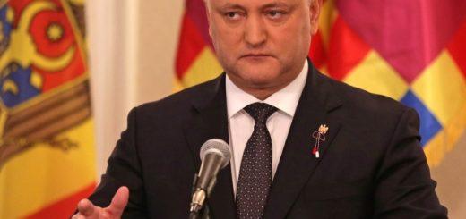 Молдавский президент Игорь Додон