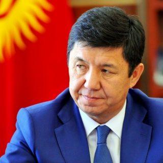 Кандидат на пост президента Киргизии Темир Сариев