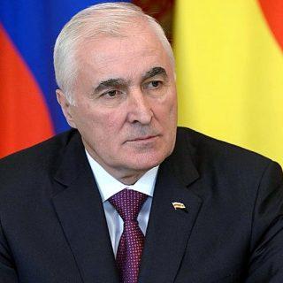 Глава Южной Осетии Леонид Тибилов
