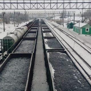 Железнодорожная блокада Донбасса