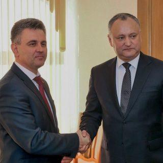 Вадим Красносельский и Игорь Додон