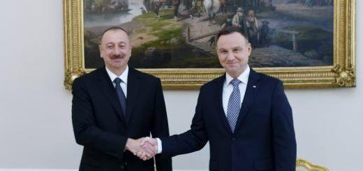 Ильхам Алиев и Анджей Дуда