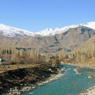 граница Таджикистана с Афганистаном