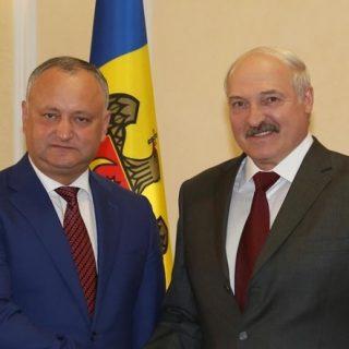 Додон и Лукашенко