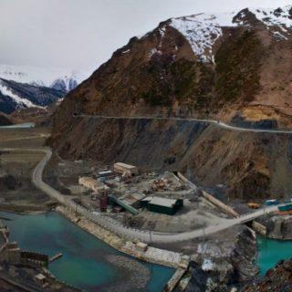 Верхненарынский каскад ГЭС в Киргизии