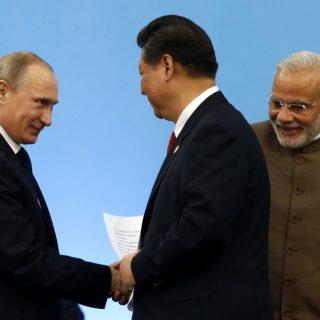 Путин, Си и Моди