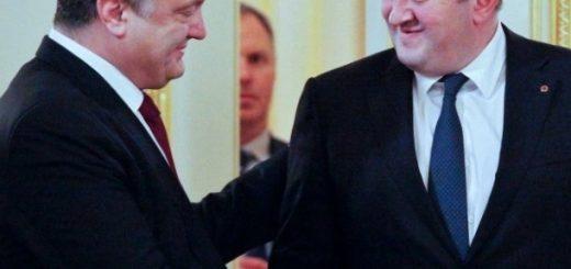 Президенты Грузии и Украины