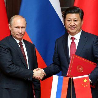 Путин и Си Цзиньпин