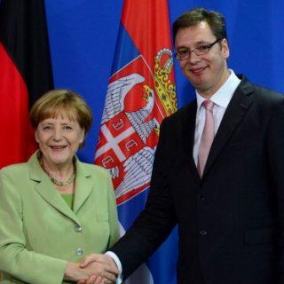 Вучич и Меркель