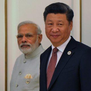 Моди и Си Цзиньпин