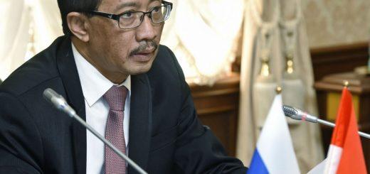 Чрезвычайный и полномочный посол Индонезии в России Вахид Суприяди