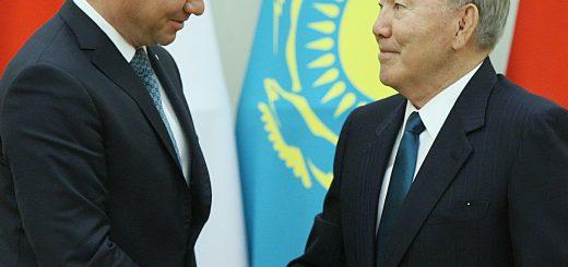 Дуда и Назарбаев
