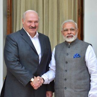 Лукашенко и Моди