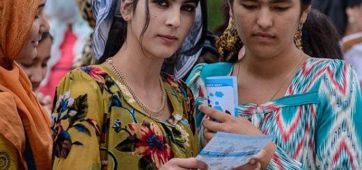 Таджикские студенты