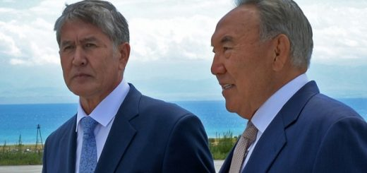 Атамбаев и Назарбаев