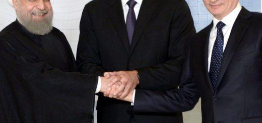 Путин, Алиев и Роухани