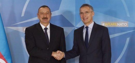 Алиев и Столтенберг