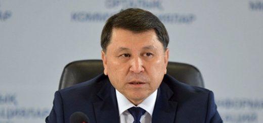 Главный санитарный врач Казахстана Жандарбек Бекшин