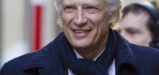 Бывший премьер-министр Франции Доминик де Вильпен
